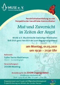 MUSE e.V. Muslimische Seelsorge Wiesbaden Begegnungsabend für Frauen 10