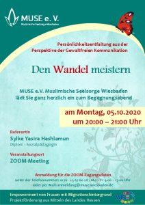 MUSE e.V. Muslimische Seelsorge Wiesbaden Begegnungsabend für Frauen 19
