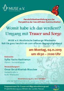 MUSE e.V. Muslimische Seelsorge Wiesbaden Begegnungsabend für Frauen 21