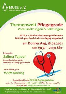 MUSE e.V. Muslimische Seelsorge Wiesbaden Begegnungsabend für Frauen 12