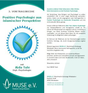 MUSE e.V. Muslimische Seelsorge Wiesbaden Positive Psychologie 1