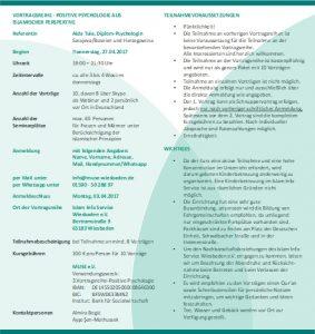 MUSE e.V. Muslimische Seelsorge Wiesbaden Positive Psychologie 2